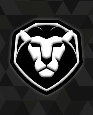 Black Lion shoulder patch